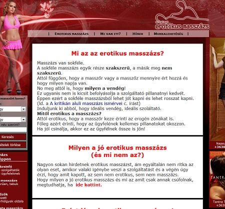 erotikus masszázs Budapesten