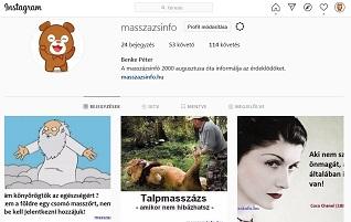 masszázsinfó instagram