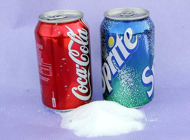 cukros üdítők